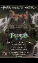Folk Metal Night:HYPOCRAS+NIGHTCREEPERS+FENRIR